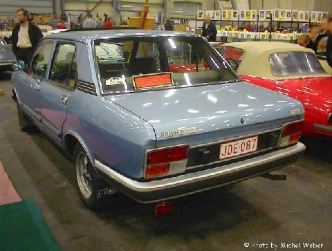 Fiat 132 Vehicle Summary Motorbase