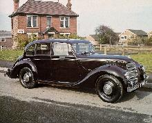Lancaster 6 Light Saloon