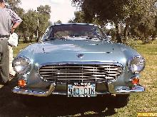 Volvo P1800 S 2dr Cpe Blu Front (1964)