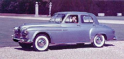 Humber Super Snipe Saloon (1954)