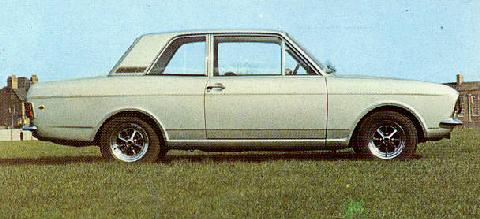Ford GB Cortina Twin Cam 2 D  LF 2 (1969)