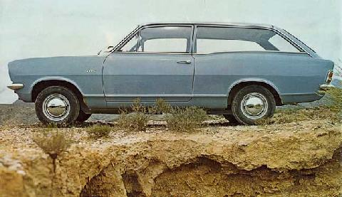 Vauxhall Viva Estate  LF 3 (1969)