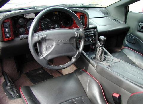 Lotus Esprit S4s Red Black Interior 1995 Picture Gallery Motorbase