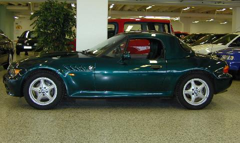 Bmw Z3 Roadster Hardtop Side 1997 Picture Gallery