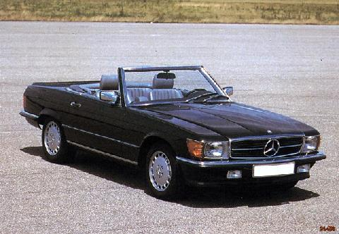 Mercedes Benz 350SL (1974)