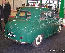 Austin A30 Seven 1955 Rear three quarter view