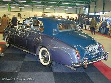 Bentley S3 Saloon 1965 Rear three quarter view