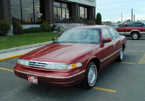 Ford crown victoria sedan red fvl 1997 picture gallery for Crown motors ford redding