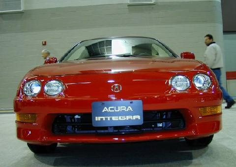Acura Integra Red FV Picture Gallery Motorbase - 2000 acura integra parts
