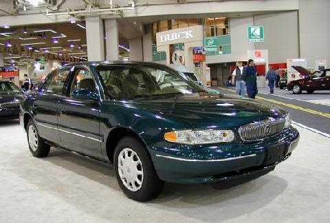 2000 Buick Century Custom Sedan Green Fvr Picture Gallery Motorbase