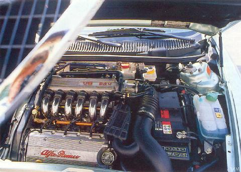Alfa Romeo 156 2,5 V6 SW 5 Engine