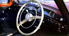 Mercedes Benz 220S Saloon   Steering Wheel (1957)