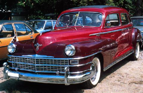 Chrysler Windsor Traveler Sedan 1948 Picture Gallery
