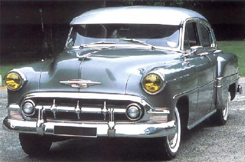 Chevrolet Bel Air Four Door Sedan (1954)