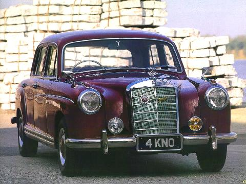 Mercedes Benz 220S Saloon 1024x768 (1957)