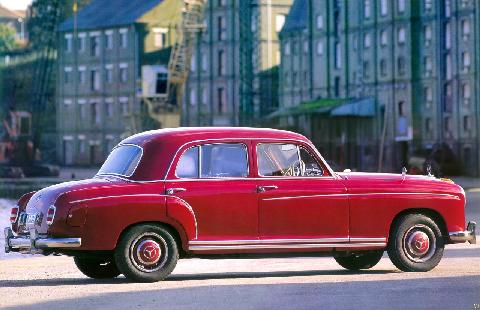 Mercedes Benz 220S Saloon Double Stitch (1957)