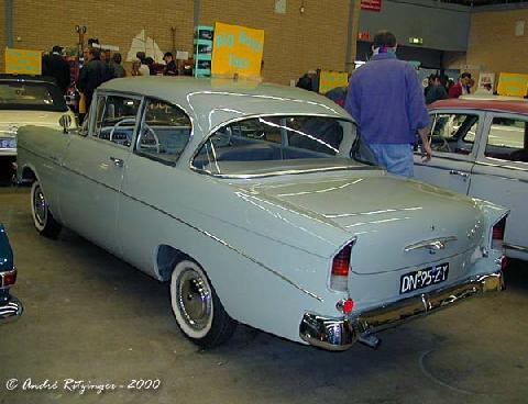 Opel 1200 1960 Rear three quarter view