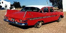 Dodge Kingsway Sedan Redwhite RVr   (1959)