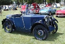 MG M Type Boattail Roadster Blue FVr   (1931)