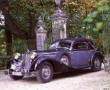 Horch 853A Cabriolet 2 Mwb  (1937)