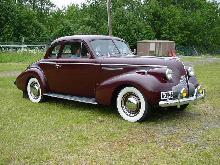 Buick Series 40 Special Sport Coupe, Maroon (1939)