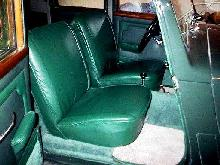 Rover P3 75 Green Front Seats   (1949)