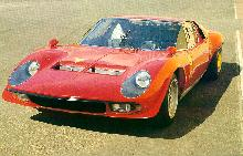 Lamborghini Miura Jota Front Bob Wallaces Ultra Light (1970)