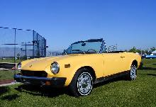 Fiat 125 Spider Yellow FVl   (1975)
