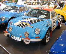 Alpine A110 1600 Group 5 Rally 1970