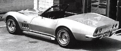 chevrolet corvette stingray 427 roadster 1969 - Corvette Stingray 1969 White