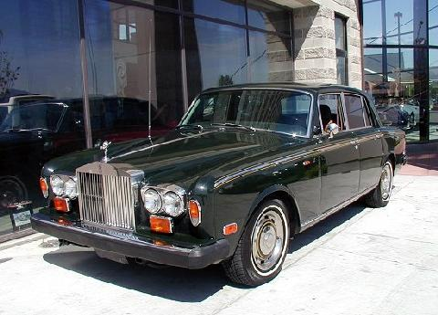 RR Silver Shadow I Green FVl   (1973)
