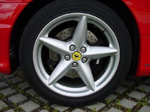 2000 Ferrari 360 Modena, Red, 18inch Wheel
