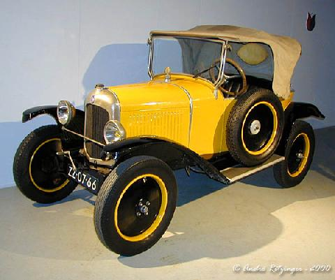 Citroen 5 CV Trefle 1922 Front three quarter view