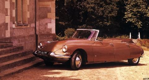 Citron DS Cabriolet 4 Door By Heuliez (1962)