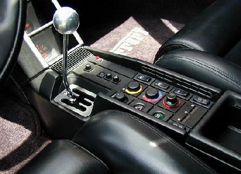 Ferrari Testarossa Black Interior Console 1990 Picture Gallery