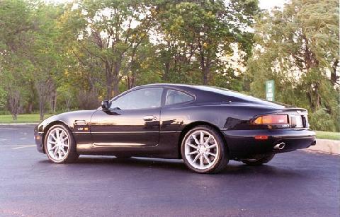 Aston Martin DB Vantage Black SVl Picture Gallery Motorbase - 2000 aston martin