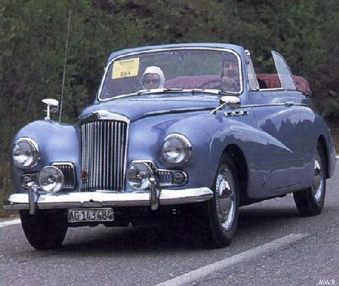 Sunbeam Mark III Cabriolet Mwb  (1955)