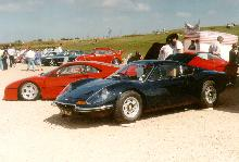 Ferrari Dino (black bodywork, side view)