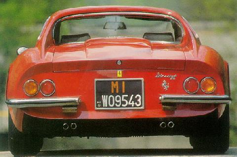 Ferrari Dino GT (rear shot)