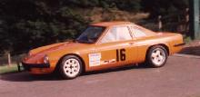 Ginetta G15 (Orange body, race prepared, side view)