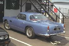 Aston Martin DB4 (Convertible with hardtop fitted, rear view)