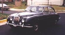 Jaguar S type (front side view)