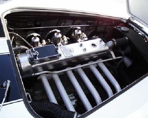 AC ACECA engine bay