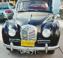 Austin Somerset 1953 front view