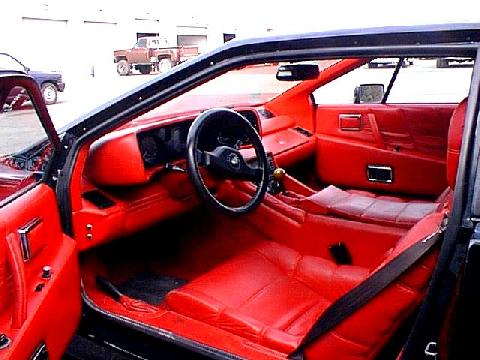 Lotus Esprit Interior