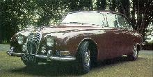 Jaguar 3.8L S-type (1965, side front view)