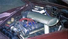 Jaguar 3.8L S-type (1965, engine bay)