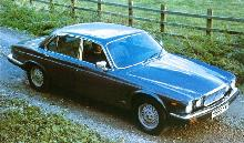 Jaguar XJ12 (1980, side view)