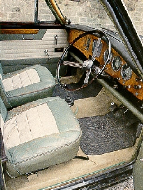 Riley 1 5 Saloon 1959 Interior Shot Picture Gallery