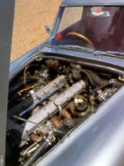 Lagonda Rapide (1963, engine bay)